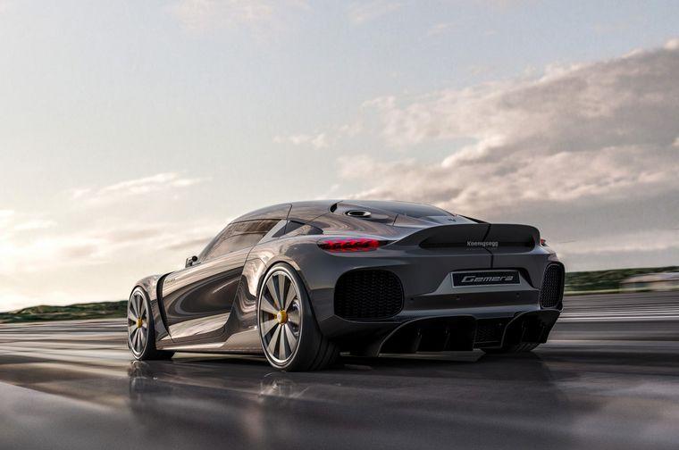 """FOTO: Gemera es un """"Mega-GT"""" de 4 plazas, 4 motores, 4x4 y 1700 caballos"""