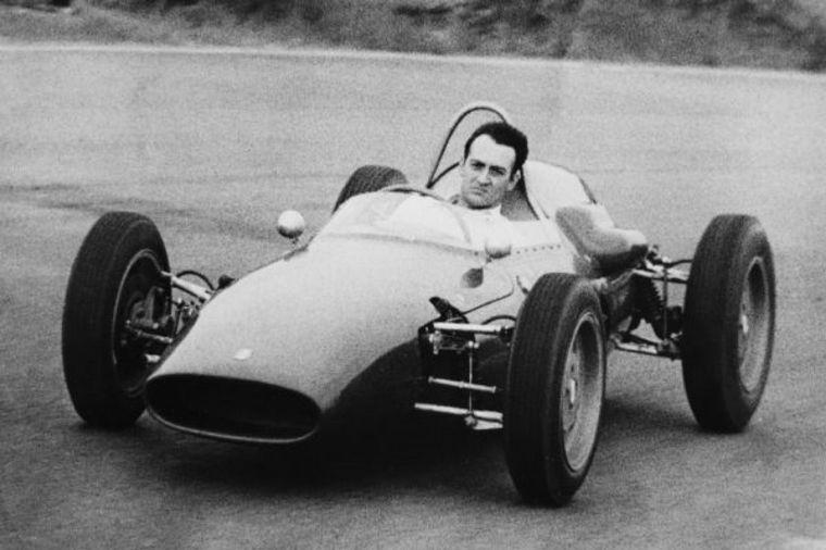 FOTO: Con el OSCA S750 (42) en Le Mans 1958, un gran triunfo