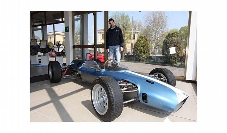 FOTO: El De Tomaso Fórmula Junior fue un auto con excelentes prestaciones