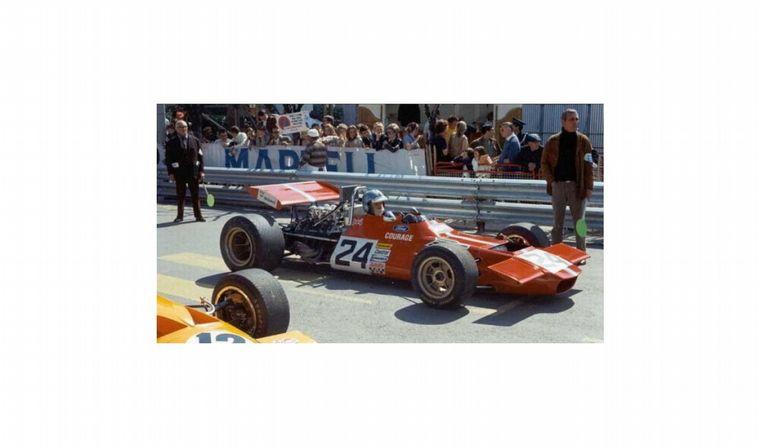 FOTO: Vista cenital del De Tomaso F1 de 1970