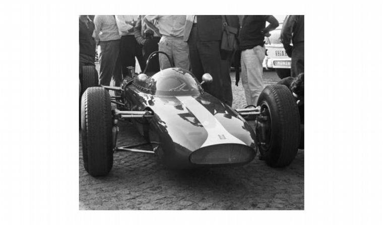 FOTO: El De Tomaso 801 con su motor boxer cerraba el círculo soñado de constructor integral