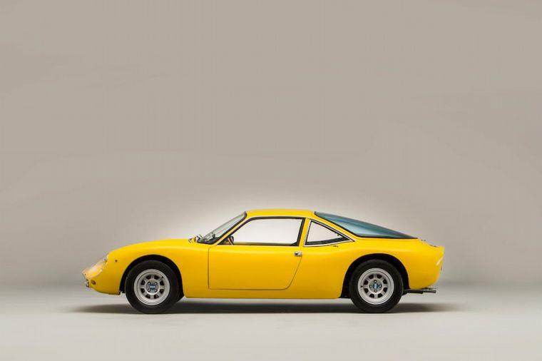 FOTO: El primer auto deportivo de De Tomaso, el Vallelunga