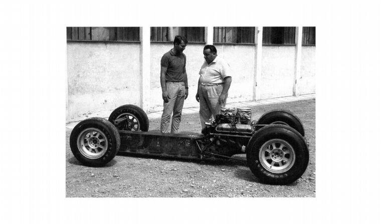 """FOTO: Carroll Shelby y Alejandro De Tomaso se conocían de las carreras """"Sport"""""""