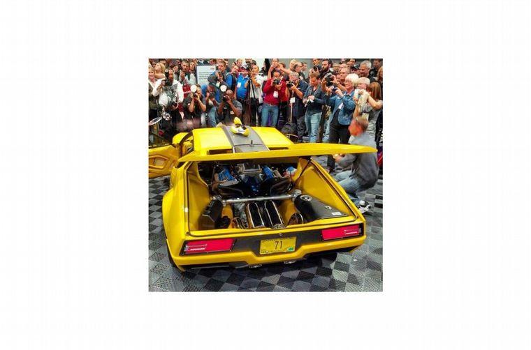 FOTO: El Pantera fue de inicio un diseño icónico y De Tomaso alcanzó su cumbre