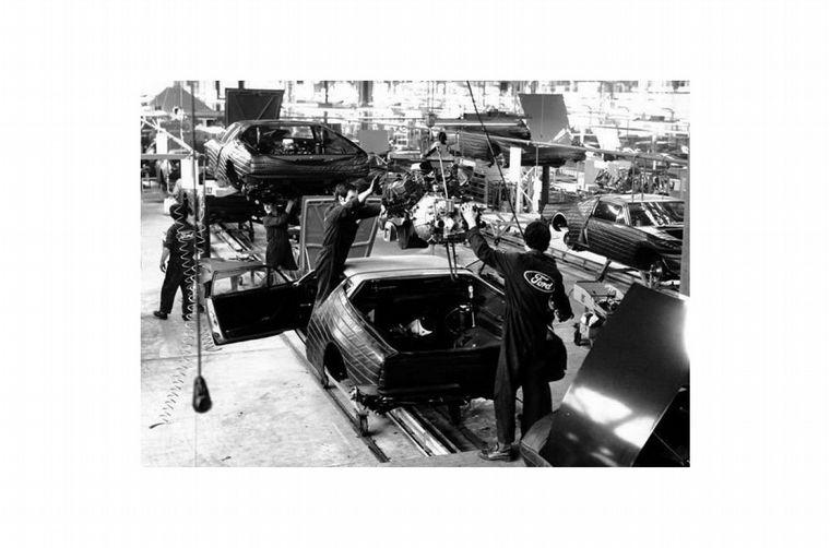 FOTO: Lee Iacocca y Henry Ford II, dos personajes claves en la historia de De Tomaso