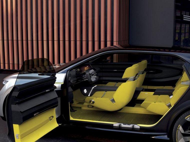 FOTO: Claras líneas futuristas para el concepto eléctrico de Renault