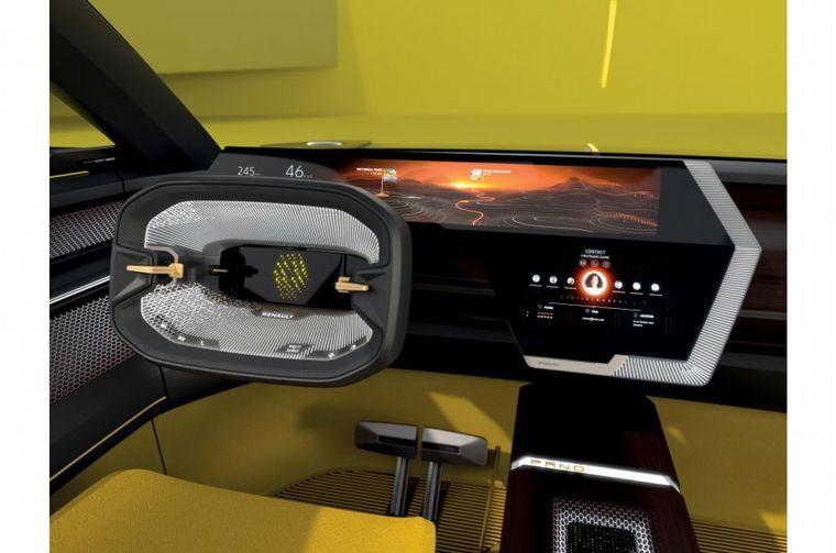 FOTO: La forma en que se extiende la parte frontal del concept de Renault