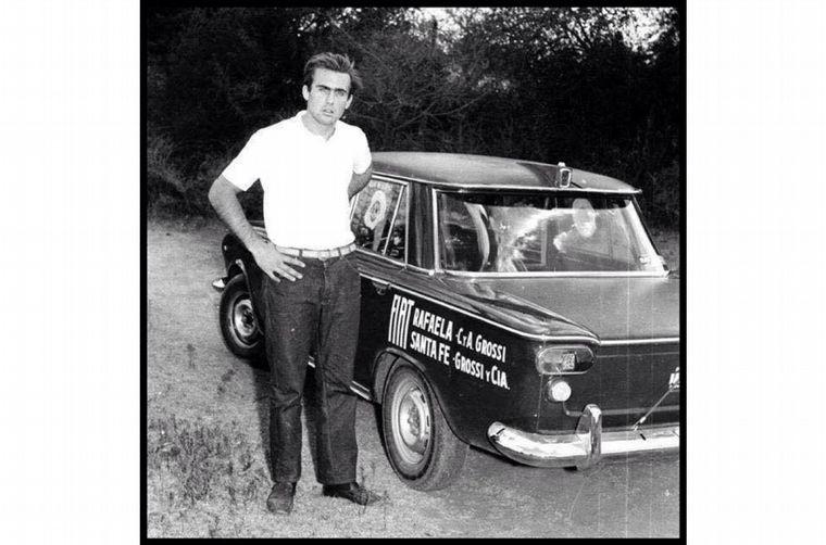 FOTO: Américo Grossi, concesionario Fiat de Santa Fe, le dio la oportunidad que buscaba