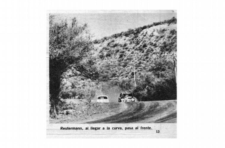 FOTO: Reutemann trepa el Pan de Azúcar para ganar por primera vez -1965-