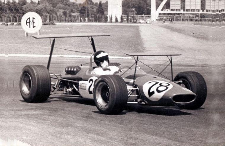 FOTO: El Tecno Cosworth de Ron Harris no estuvo a la altura nunca