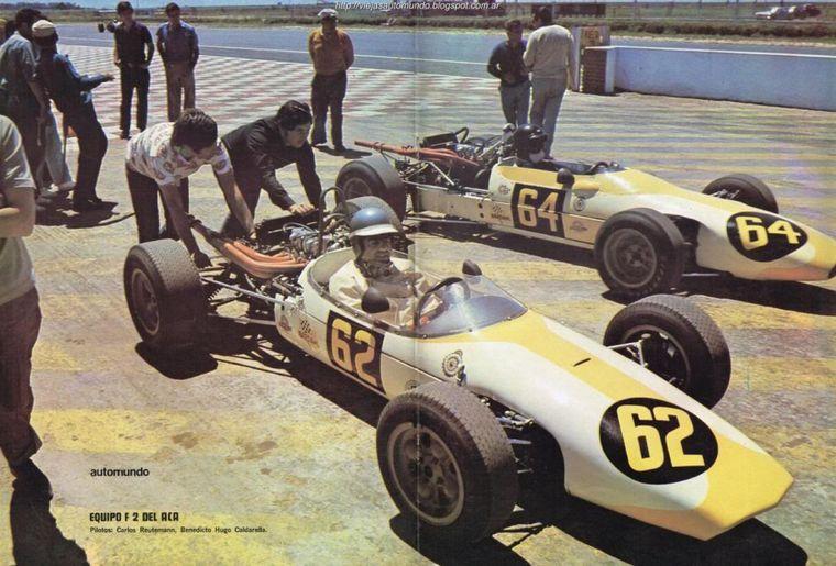 FOTO: Ternengo tomó el Huayra de Reutemann, luego de la ruptura con Pronello