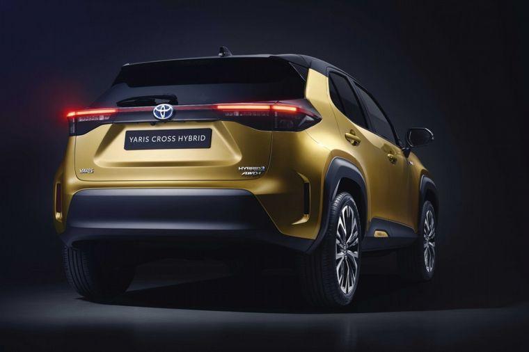 FOTO: La línea de un Yaris y el gen de un crossover en el nuevo B-SUV de Toyota