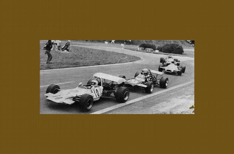 FOTO: En su quinta carrera en Europa, Reutemann había marcado la pole position