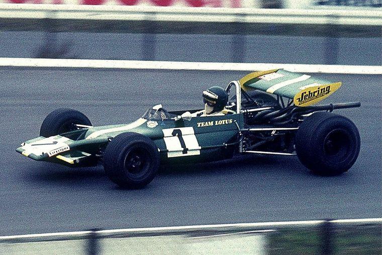 FOTO: Era la figura excluyente, el patrón de la F2, el austríaco Jochen Rindt