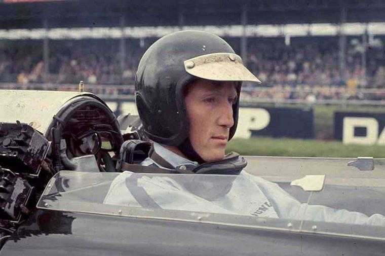 FOTO: Reutemann con Caldarella y con el brasileño Emerson Fittipaldi
