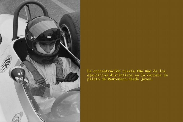 FOTO: La primera Pole de Reutemann, doblegando a Jochen Rindt