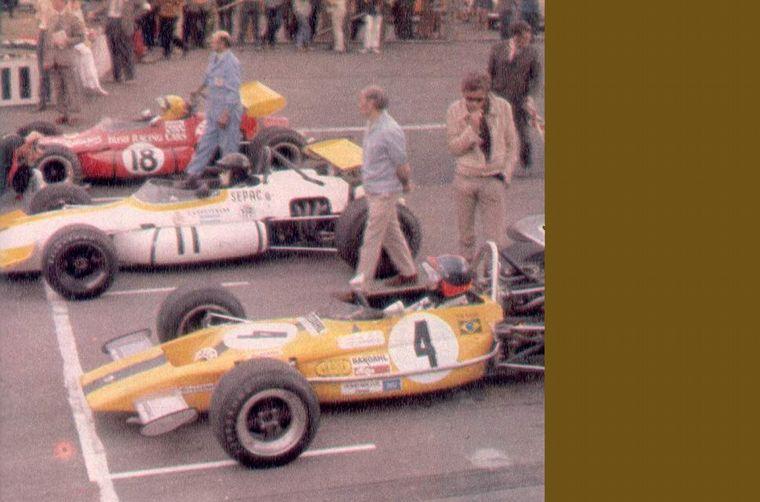 FOTO: Rindt, Regazzoni, Cevert, Stewart... con 11, por el medio, Reutemann