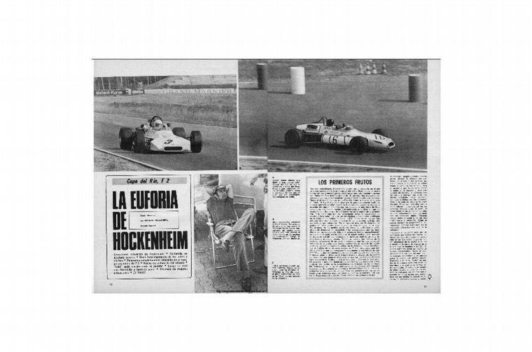 FOTO: Reutemann puntea delante del BMW de Hahne en Hockenheim