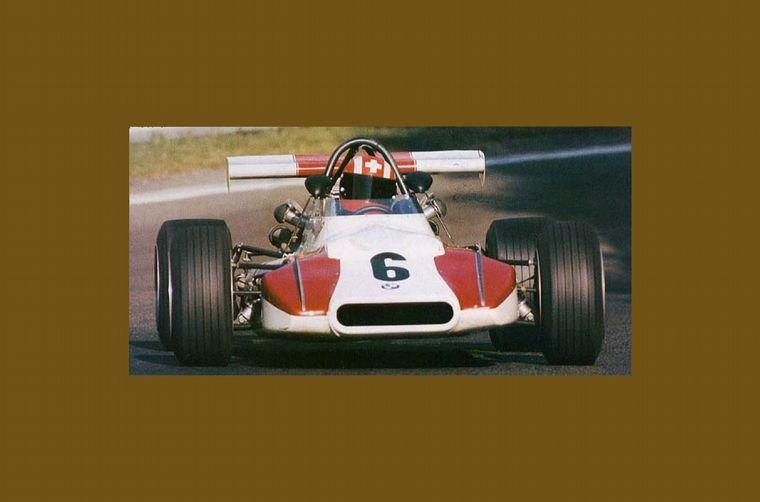FOTO: El suizo Regazzoni fue el campeón 1970 con este Tecno Cosworth
