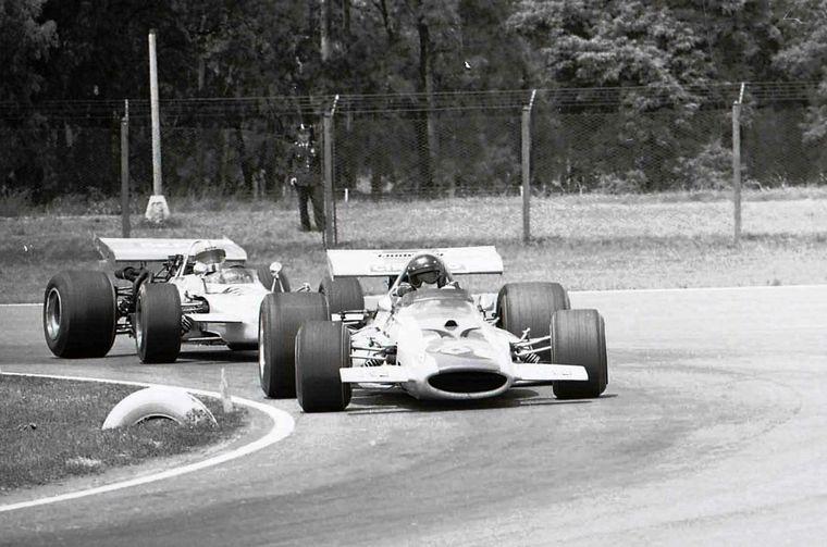 FOTO: Uno de los fuertes de Reutemann es la concentración
