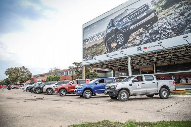 FOTO: General Pacheco, planta de Ford Argentina.