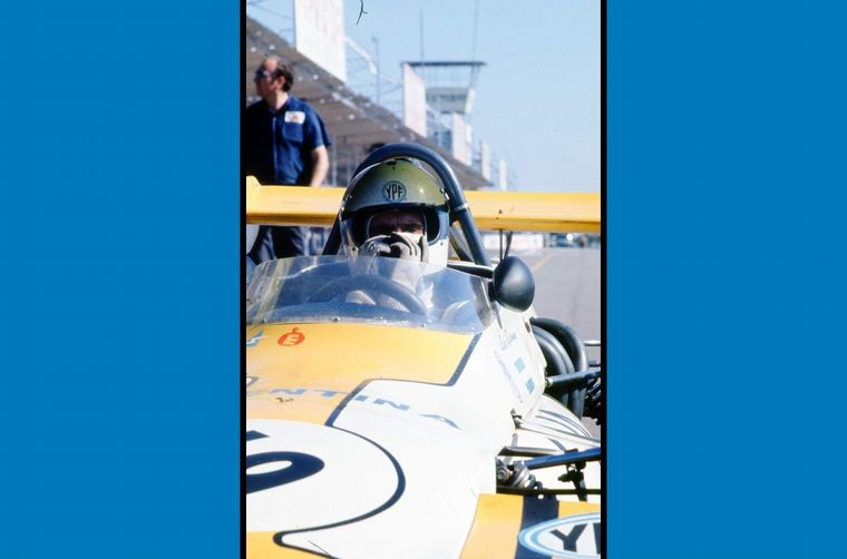 FOTO: En 1971, Reutemann, con su actuación, se ganó el contrato con Brabham para la F1