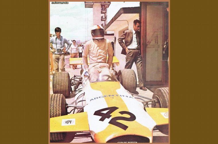 FOTO: Comenzó el '71 sobre el Porsche 917 SP, el mejor de su época