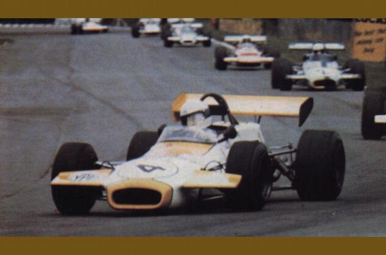 FOTO: Reutemann en Mantorp donde volvió al podio de la F2 Europea