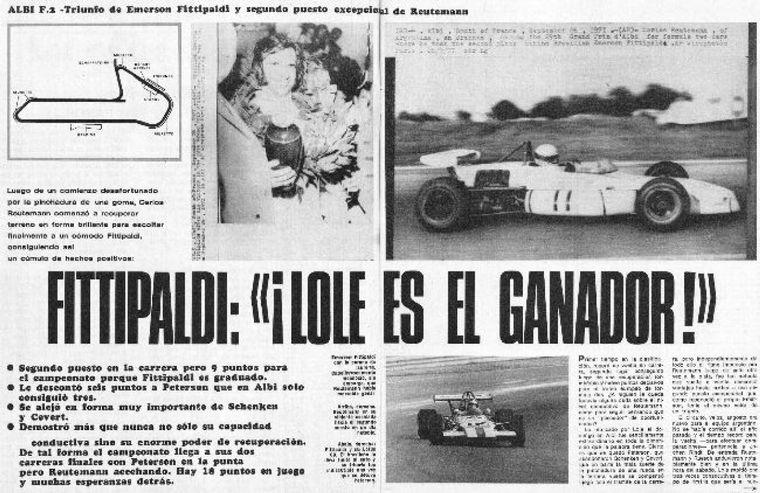 FOTO: Albi, pincha una goma en la vuelta 3, recupera una vuelta y es 2° de Fittipaldi
