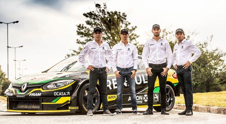 FOTO: Pernía le dió a Renault Sport en Diciembre 2019 el tricampeonato.