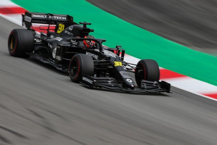 FOTO: Daniel Ricciardo en su auto 2020 que todavía no podrá utilizar