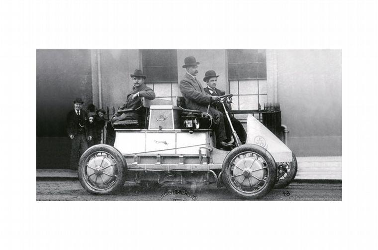 FOTO: Ferdinand Porsche (1875-1950) genial autodidacta, diseñador y constructor