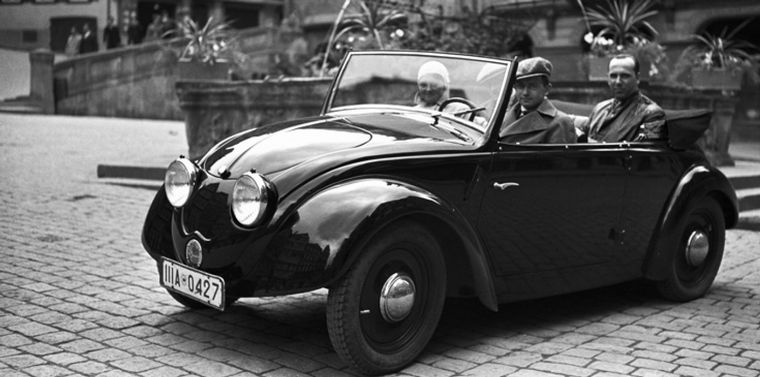 FOTO: En 1923, diseñó el Mercedes Kompressor que ganaría la Targa Florio