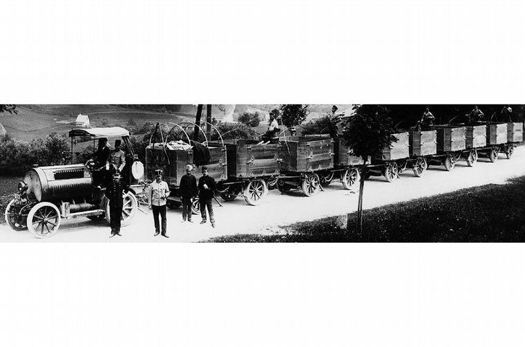FOTO: Ferdinand ganó en 1910 la Prinz-Heinrich Farht con un Austro-Daimler