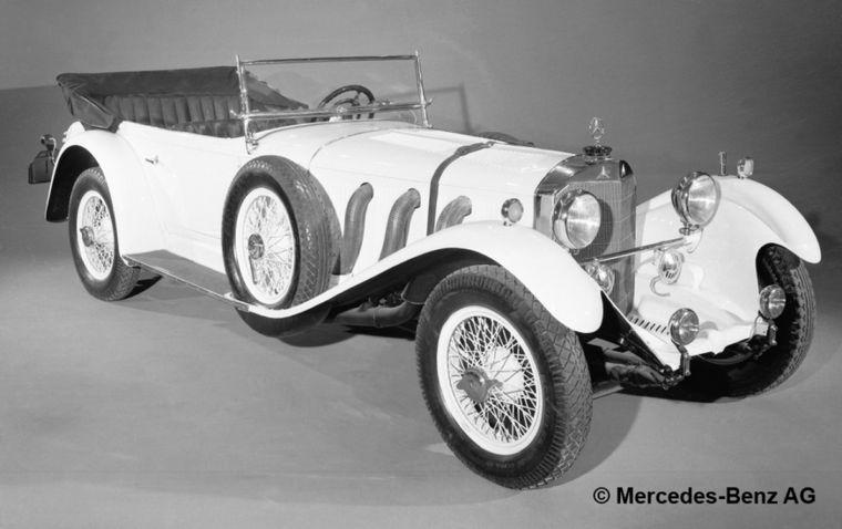 """FOTO: En 1927, los """"elefantes blancos"""" copando la primera fila en Nürburgring"""