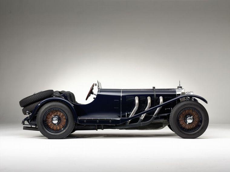 """FOTO: 1928, Caracciola gana en Gabelbach; en 1930 ganará las """"1000 Millas"""" en Italia"""