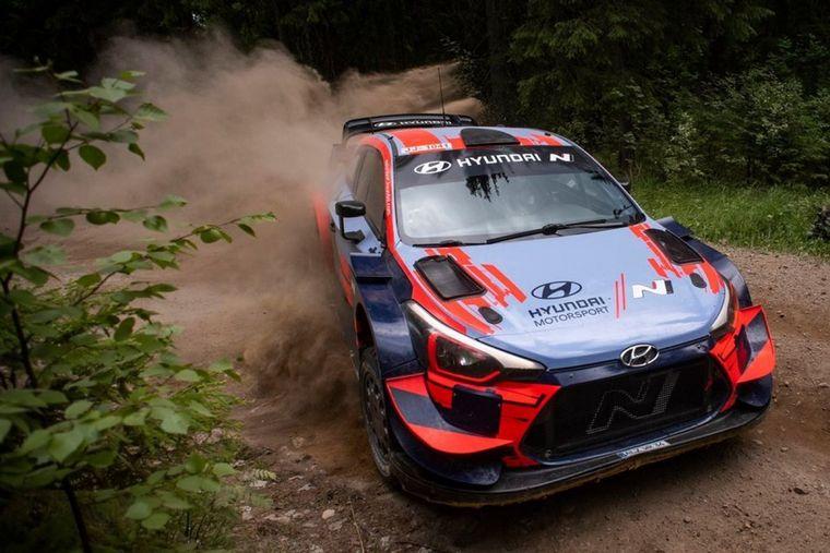 FOTO: El famoso Ouninpohja finlandés fue el escenario de la prueba de Hyundai