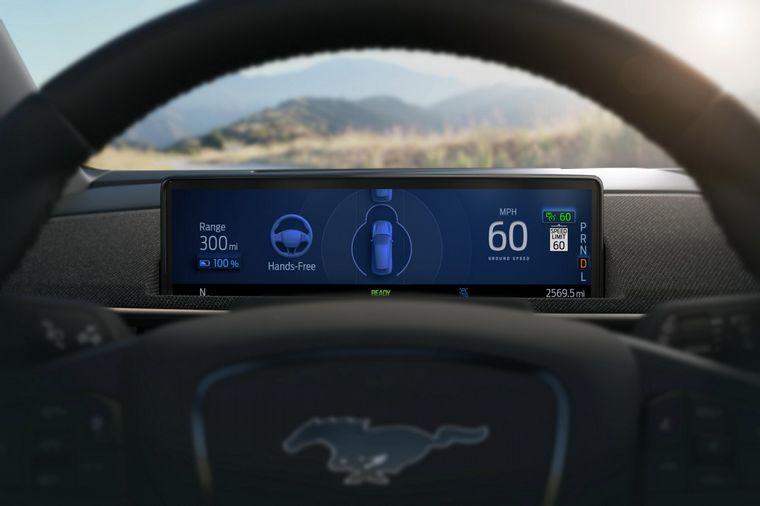 FOTO: El Mustang Mach-E 2021 es directo competidor del Tesla Model Y