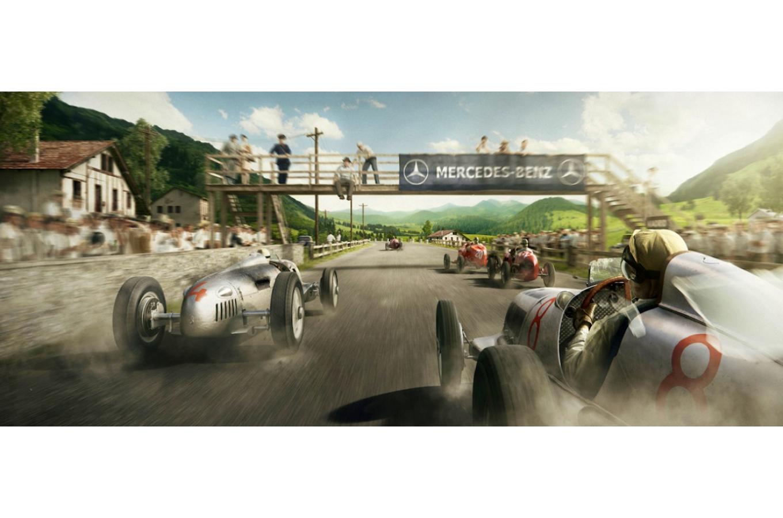 FOTO: El nazismo financió las campañas de Mercedes y Auto Union