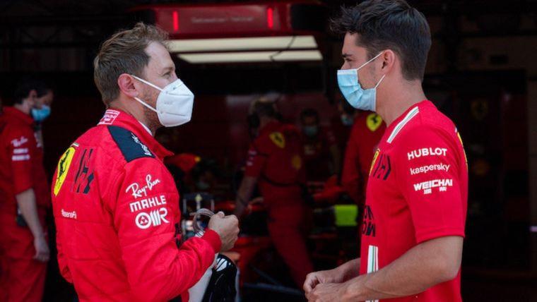 FOTO: Vettel abrió al volante los ensayos de Ferrari en Mugello sobre el auto 2018