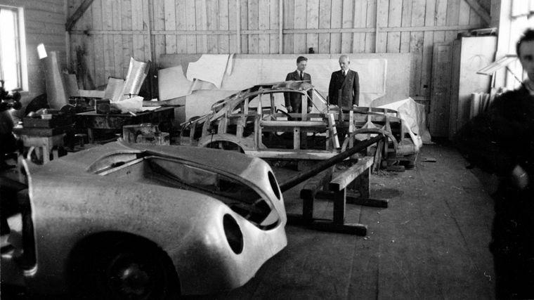 FOTO: El Tipo 64 muestra las líneas que los Porsche ya pensaban para sus coches
