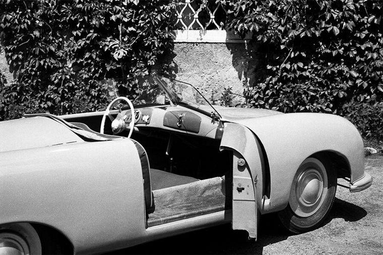 FOTO: El '356' pesaba solo 585 kilogramos y el motor iba montado en el centro