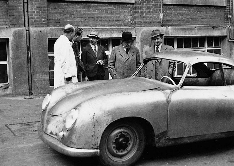FOTO: Anton Piech -yerno de Porsche- también estuvo preso 22 meses
