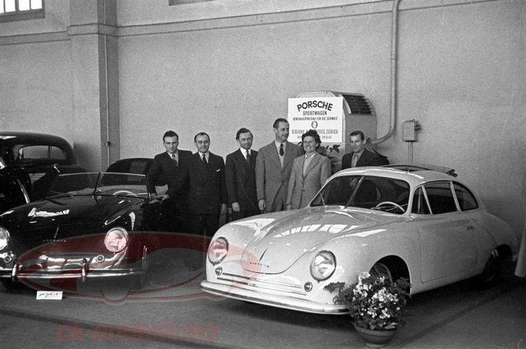 FOTO: Una hermosa pieza de colección de los primeros '356'