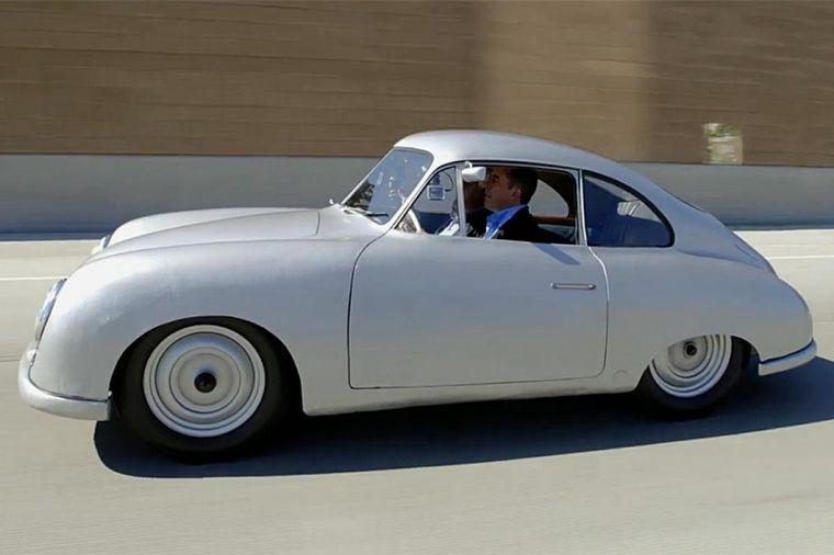 FOTO: El '356' cabriolet destilaba clase manteniendo el espíritu deportivo
