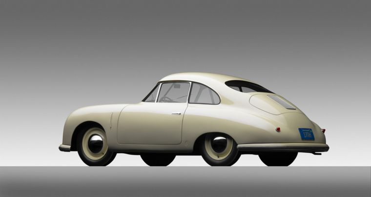 FOTO: Las líneas del '356' refieren al VW Tipo 64 y marcarán el futuro de la marca