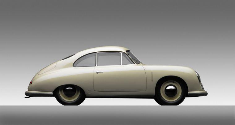 FOTO: Uno de los primeros '356' en el Museo Porsche