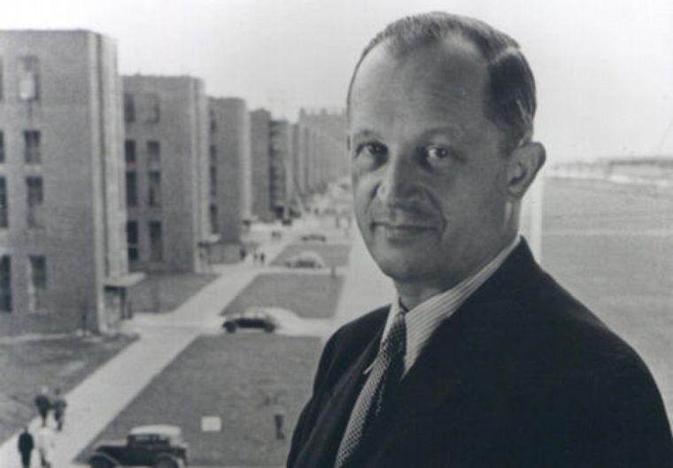 """FOTO: Von Erhard fue el economista que puso en marcha el """"milagro económico alemán"""""""