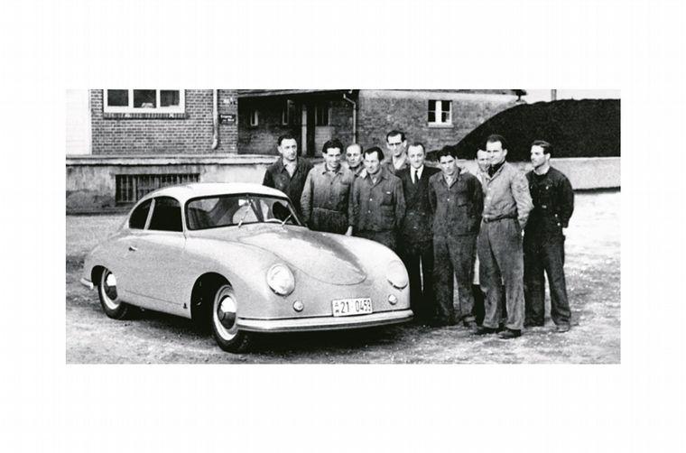 FOTO: Heinrich Nordhoff produjo la reconstrucción de la fábrica Volkswagenwerk