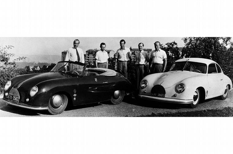 FOTO: Hasta sus últimos días el ingeniero Porsche ayudó a Ferry con las decisiones técnicas